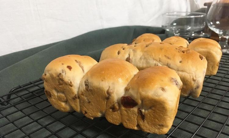 호두 크랜베리 식빵 만들기 : 귀여운 미니식빵!
