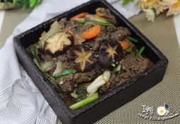 쇠고기 표고버섯볶음 만드는 법~표고버섯 듬뿍 넣어서**