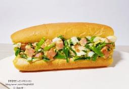 부추빵 샌드위치 : 간단한 간식