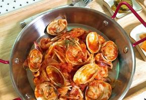 토마토소스 해물 파스타(한그릇요리)
