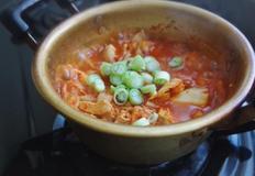 새마을식당 7분김치찌개 만들기