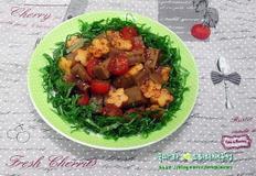입맛 살려주는 묵무침/도토리묵 과일무침
