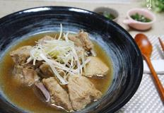 집밥백선생 백종원 돼지갈비탕,갈비육개장 만드는 법