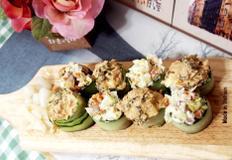 #남은치킨을 이용한 치킨마요초밥과 볶음참치김치초밥만들기