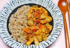 간편한 한그릇 요리! 닭고기배추덮밥♪