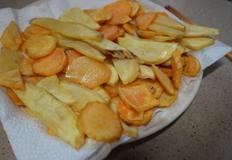맛있는 고구마 칩 만들기