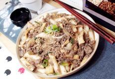 #한우불고기를 이용한 궁중떡볶이만들기 #단짠단짠한 불고기양념의 떡볶이!! 혼술혼밥도 럭셔리하게~