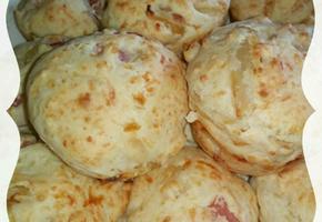 햄 앤 치즈 머핀(Ham & Cheese Muffins)