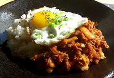 참치 김치덮밥