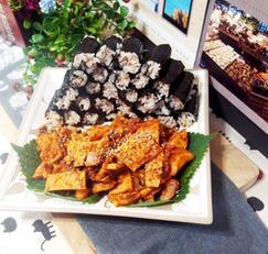 #집밥백선생 충무김밥만들기 #무말랭이보다 간단한 단무지를 이용한 어묵무무침으로 만드는 충무김밥