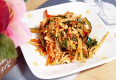 #닭가슴살을 이용한 닭무침만들기