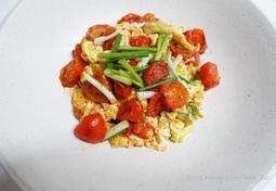 중국식 토마토 계란볶음 만들기 -중국 가정식 西??炒?蛋