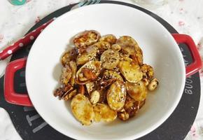 호떡 맛 나는 떡맛탕(가래떡이나 떡국떡으로 해보세요)