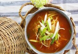 김치콩나물국 시원한 맛이 좋은 간단한국