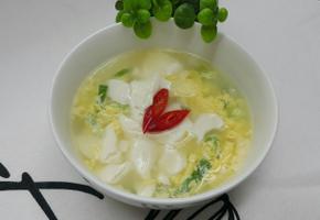 연두부 계란탕~*