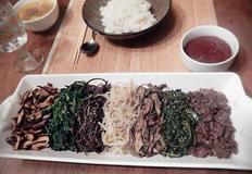 비빔밥 만들기