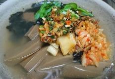육수와 도토리묵만 있으면 맛있게 먹을 수 있는 도토리묵밥 황금레시피(feat. 비범양념장)