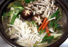 버섯 불고기 전골