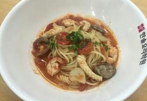 토마토소스 해산물 스파게티 만들기