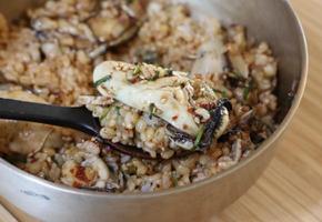 압력밥솥 굴밥 만드는 법 달래양념장