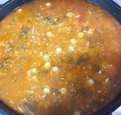 꽁치추어탕~~ 꽁치캔으로 간단하고 쉽게 끓이는 보양식 추어탕....