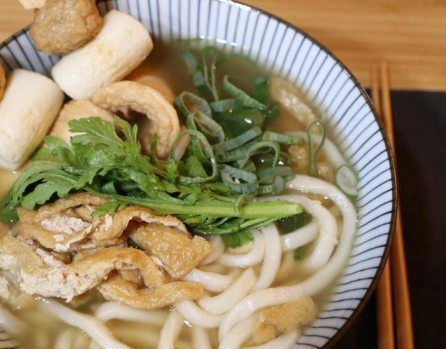 우동 레시피 쯔유로 일본 우동 만들기