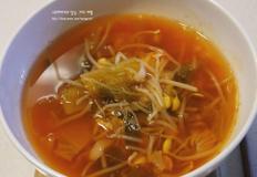 칼칼하고 뜨끈한 콩나물 김치국 / 속풀이 해장국