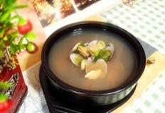 #문어삶은물에 끓이는 조개탕만들기 #타우린의 완전체!! 문어삶은 물에 끓이는 영양만족