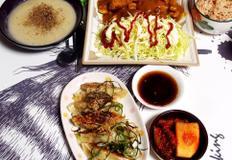 #치킨텐더와 3분카레를 이용한 초단간 치킨까스만들기!! 김준현표군만두는 서비스.
