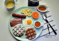호두와플만들기 쫀득한 리에주와플로 근사한 홈카페 브런치메뉴