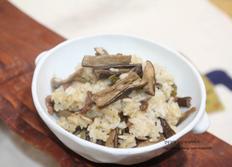 말린가지요리, 가지밥