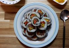고소하고 달큰한 불고기 김밥