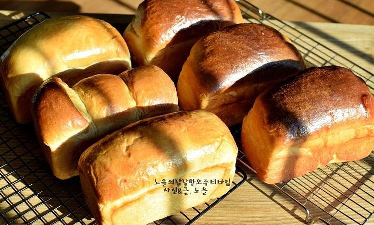 식빵만드는법 보들보들 우유식빵만들기