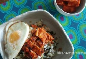 더덕구이 곤드레밥:다 된 밥에 생색내기