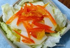 유자배샐러드:초초초초..간단 샐러드