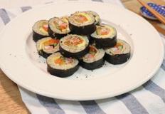 초간단재료 어묵김밥