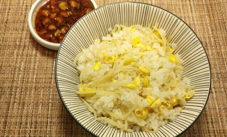 냄비 콩나물밥 & 양념장