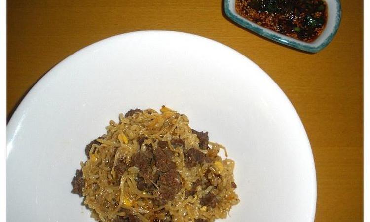 쇠고기콩나물밥:현미밥으로 더 건강하게