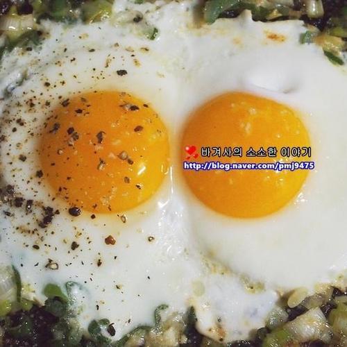 백종원 들기름 계란후라이 만들어봤어요