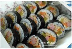 집에 있는 재료로 엄마표 김밥 만들기~~