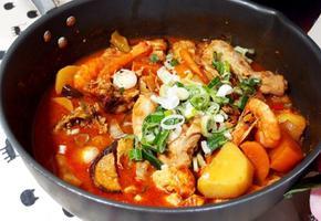#새우가 들어간 #닭매운탕만들기 #쉽고 간단한 양념과 잡내없이 닭매운탕 끓이기