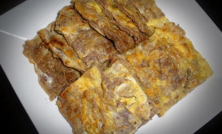 쇠고기의 담백한 맛 그대로~육전(명절요리)