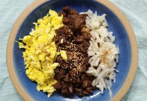소보로덮밥:명절음식 살뜰히 활용하기
