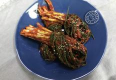 백종원 파김치 응용한 황금레시피 파김치 만들어보아효~