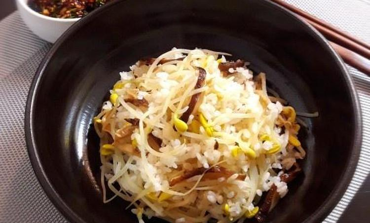 달래 간장 콩나물밥 / 별미요리