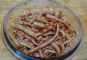 [비빔밥 재료] 무생채 맛있게 만드는 황금레시피