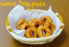 """시나몬 향이 솔솔~ """"시나몬 도넛 만들기"""""""