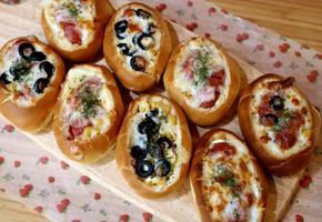 모닝빵 요리-간단한 간식 만들기