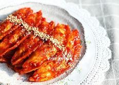 만두강정 만들기, 매콤달콤 소스로 더욱 맛있게 ~