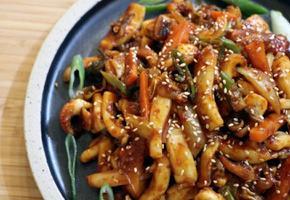 갑오징어 볶음 양념이 생명